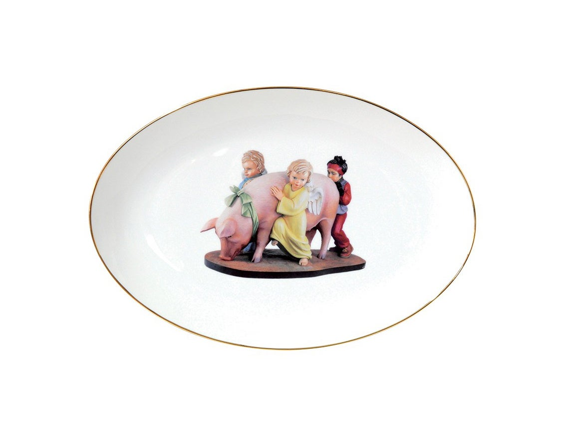 Image of Jeff Koons - Ushering Banality (Service Plate)