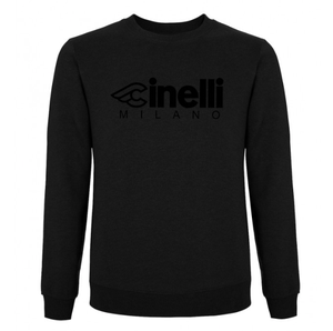 Image of Cinelli MILANO Flocked Crewneck