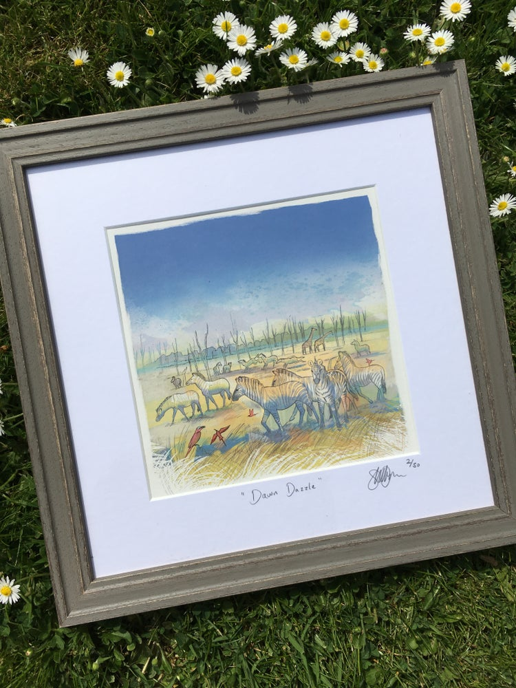 Image of Dawn Dazzle  - Framed Print