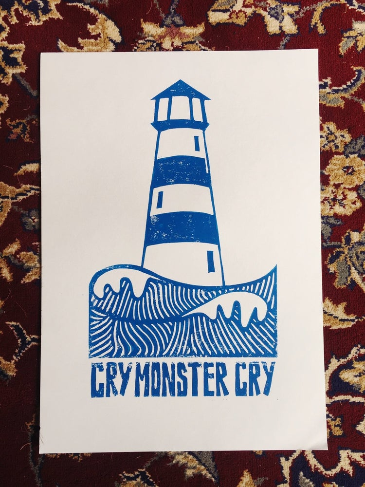 Image of Cry Monster Cry Lighthouse Print