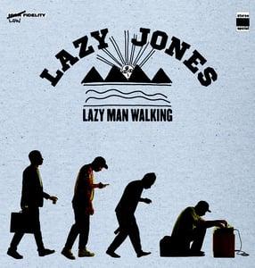 Image of Lazy Jones - Lazy Man Walking - LP (Augenringe Unter Dem Dritten Auge)