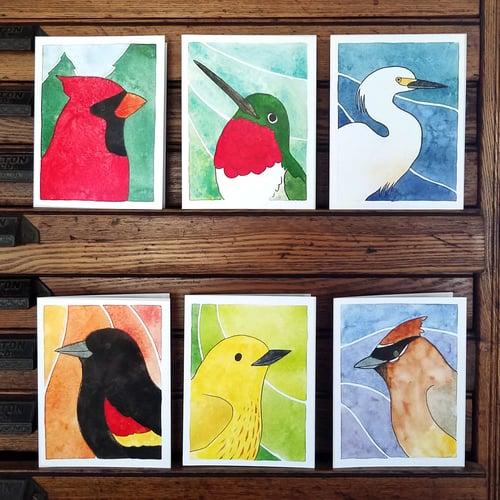 Image of Birds of All Seasons 3 Card Set