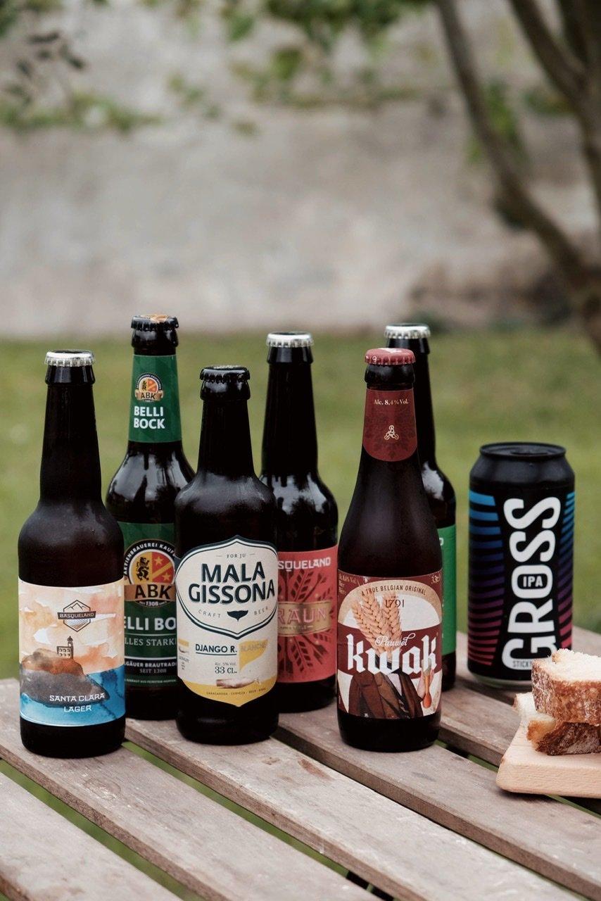 Image of Pack 7 botellas cervezas artesanas