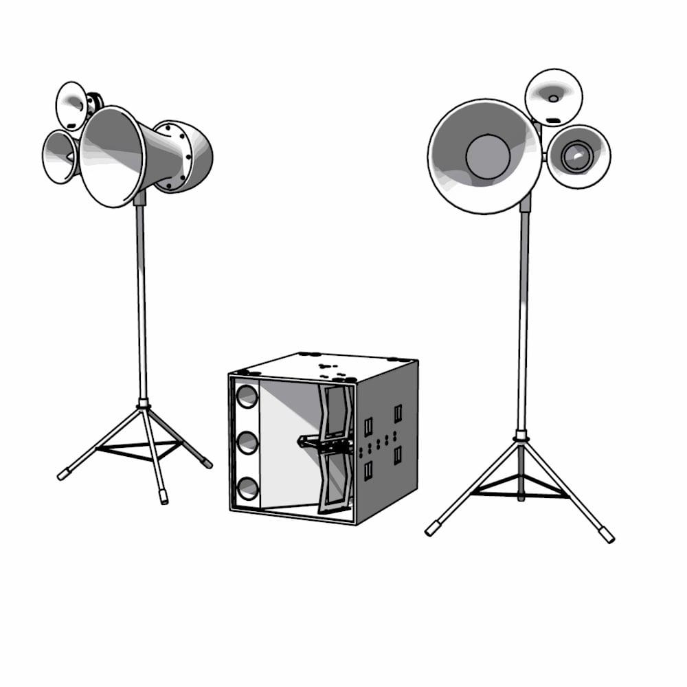Image of 2 x Air Motion + 1 x Nexus XL = Air Motion XL 1