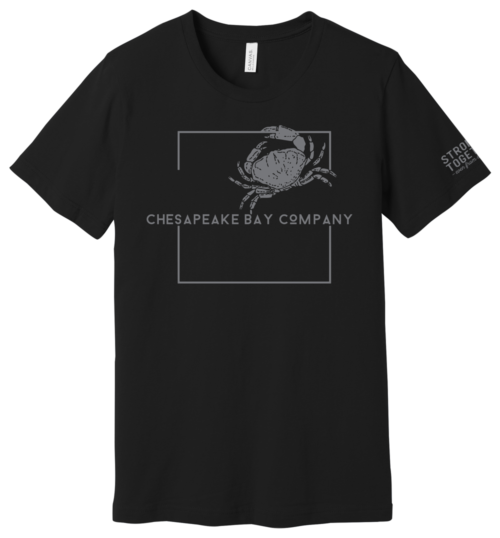 """Chesapeake Bay Company """"Stronger Together"""" Tee"""