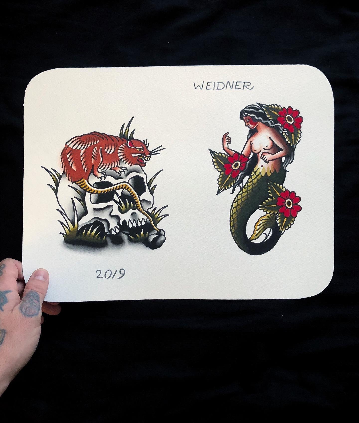 Image of Rats get fat & Mermaid
