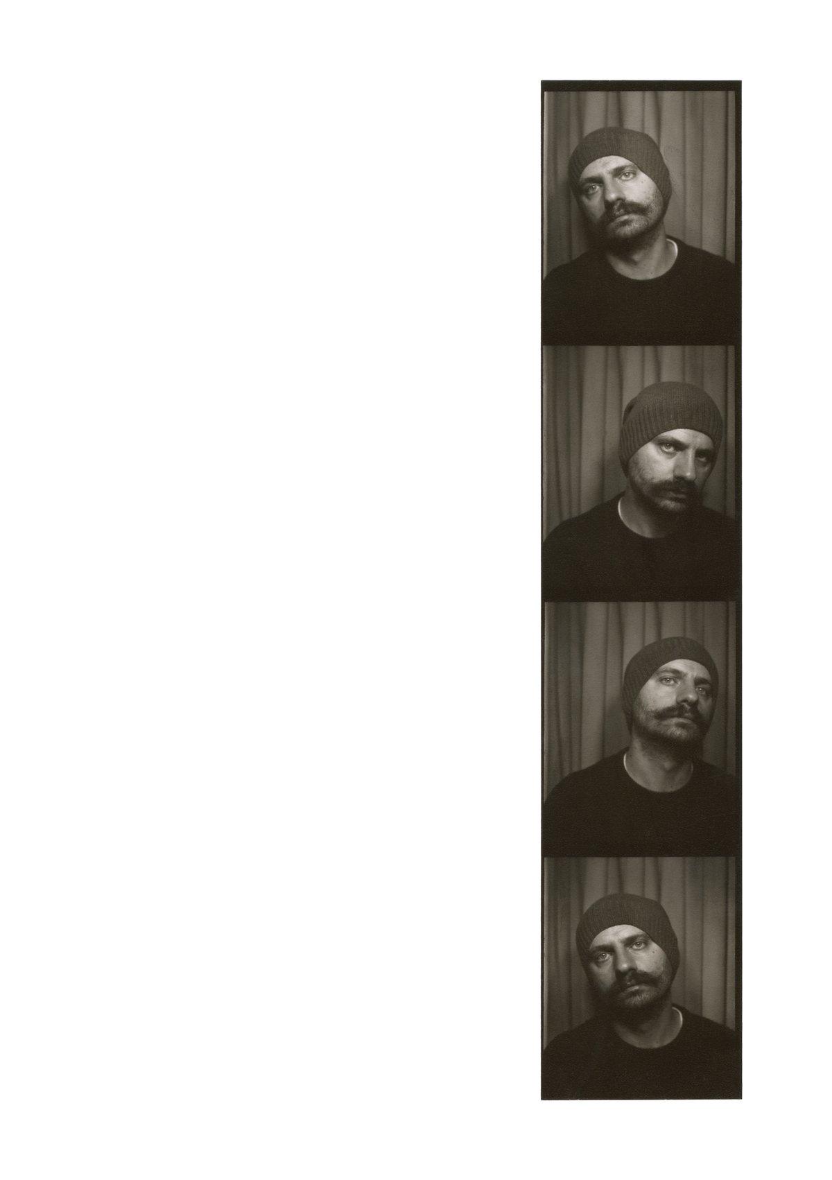 Photobooth #1 - Self-portraits Zine