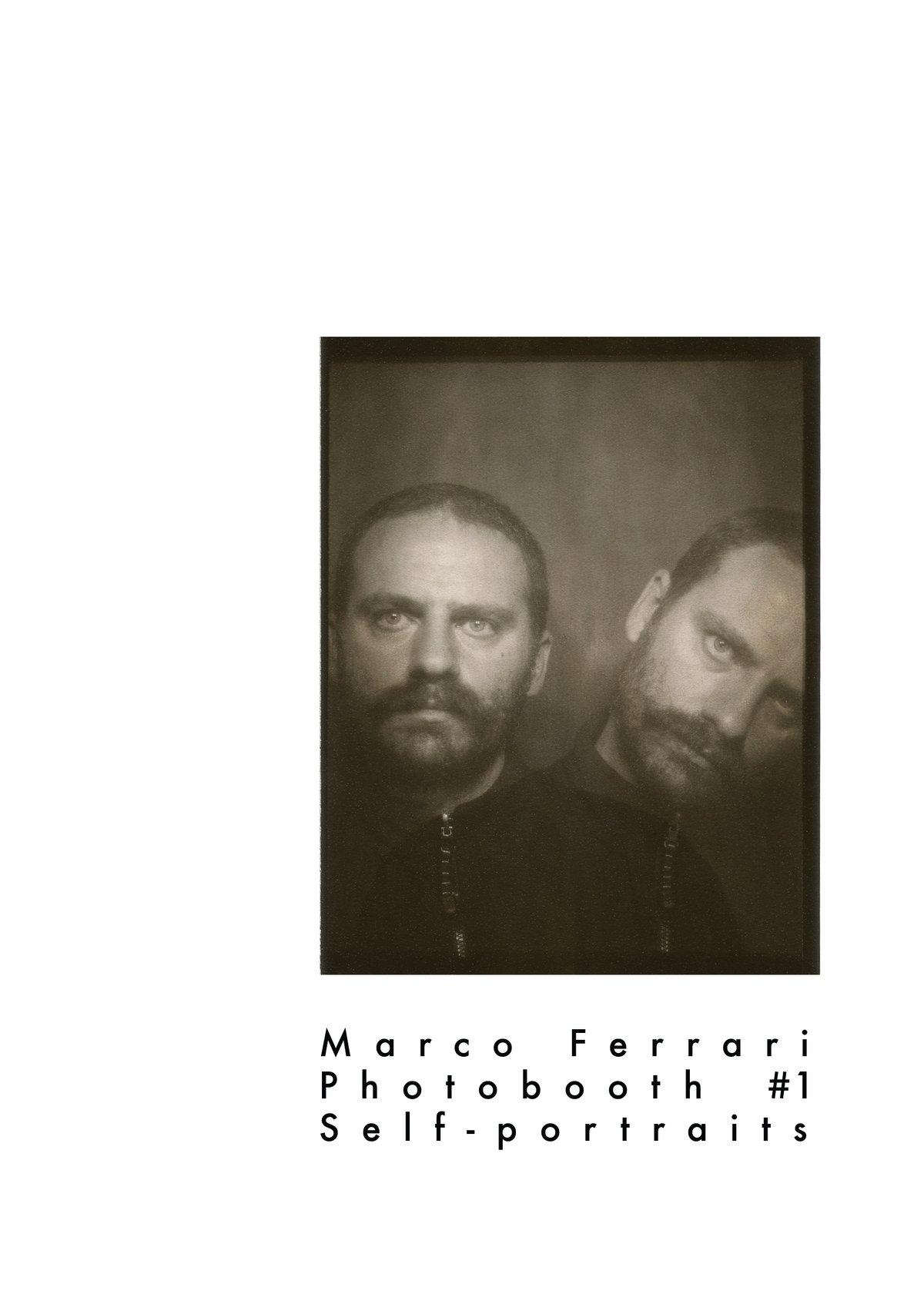 Self-Portraits Zine + Original photobooth strip
