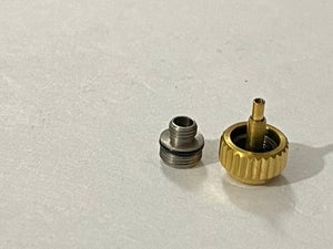 Image of ROLEX (7mm X 4mm) Watch Crown Keys,yellow gold plated (R-3)