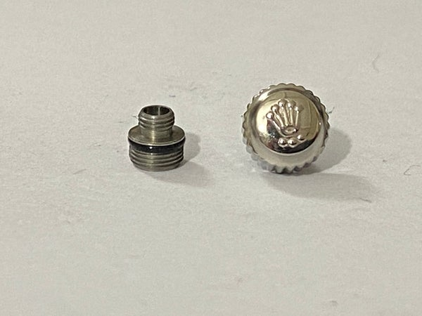 Image of ROLEX (7mm X 4mm) Watch Crown Keys,stainless steel (R-2)