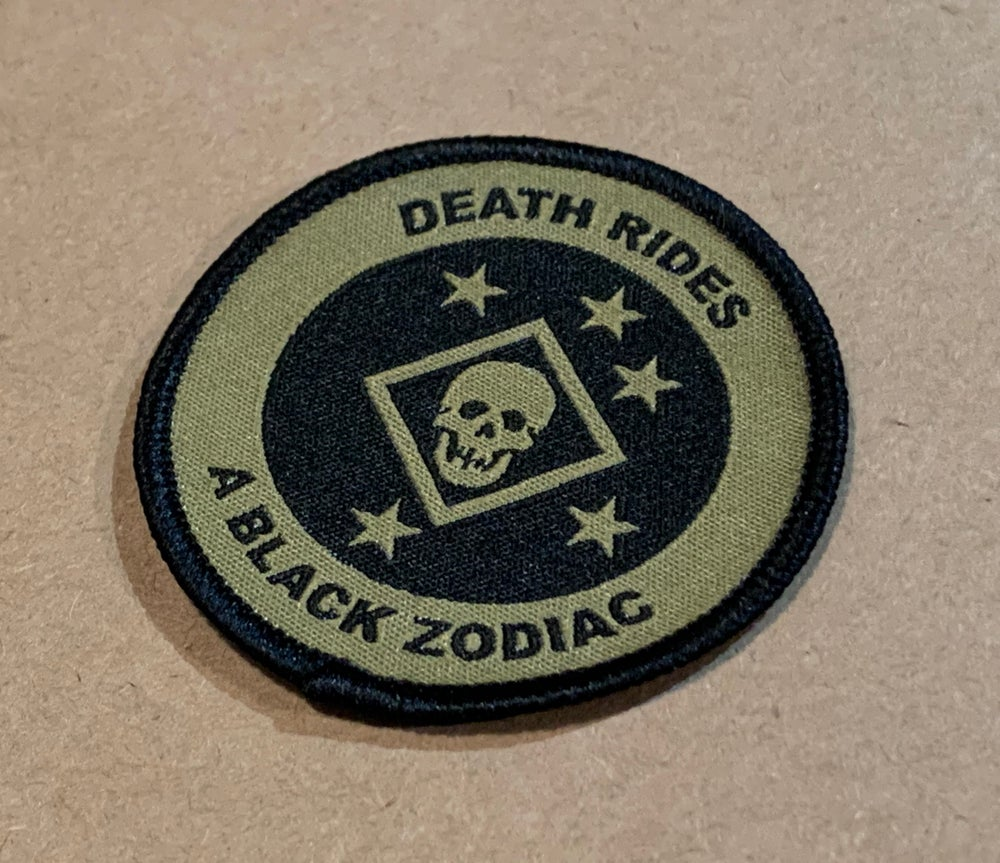 Image of Death Rides Mini Patch