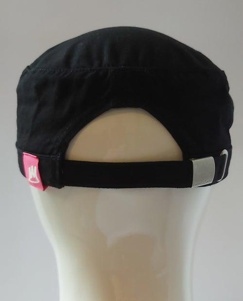 Image of Black Army Cap (Pink)