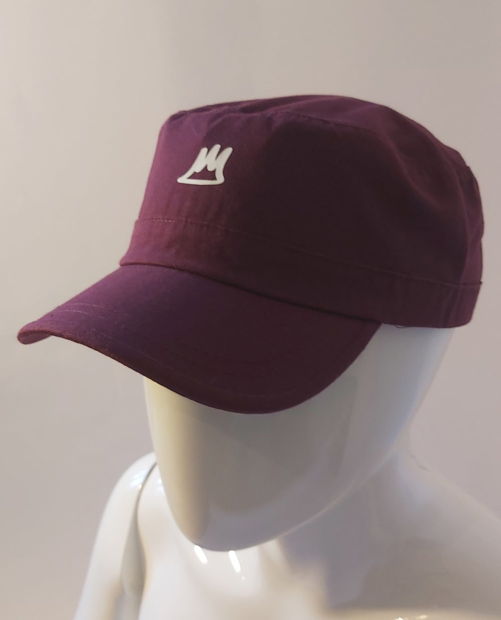 Image of Burgundy Army Cap