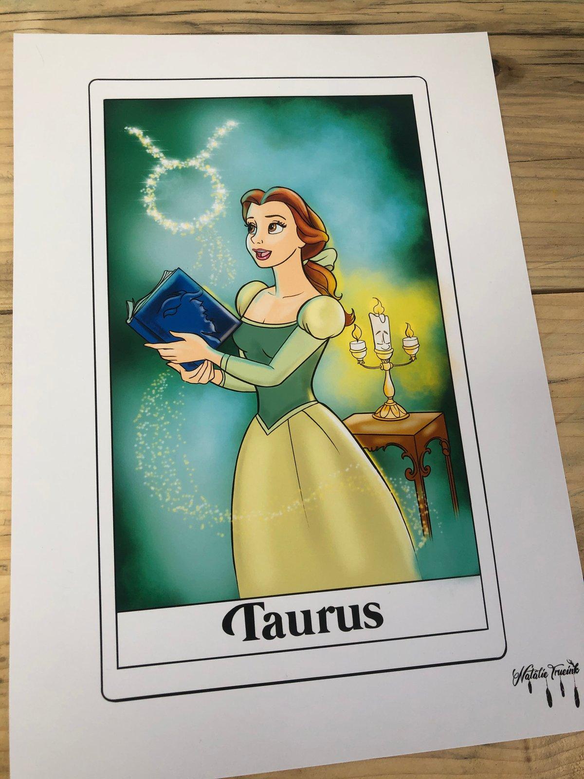 Belle Taurus Print