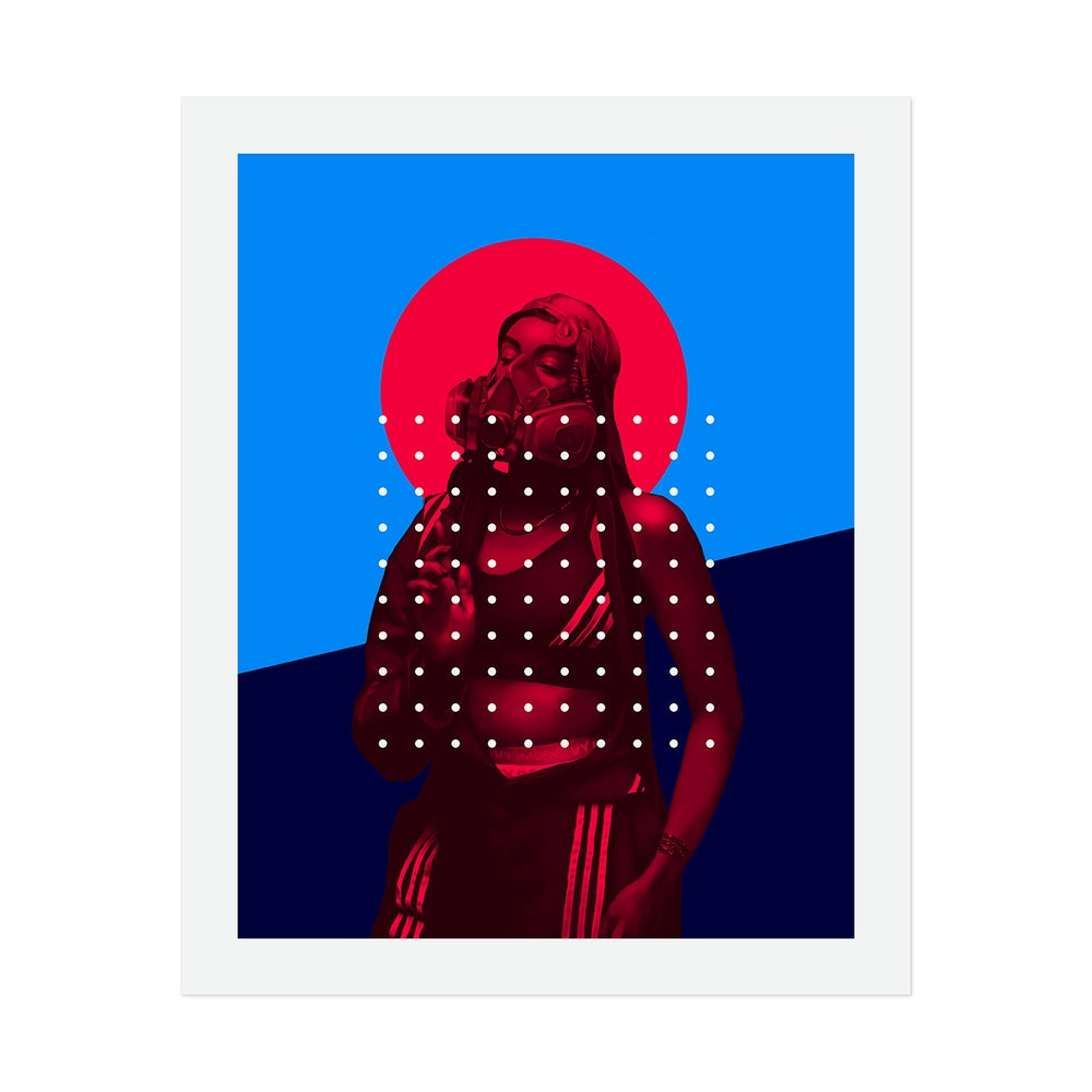 Image of Our Lady of the Quarantine (Unframed Giclée Art Print on Archival Paper)