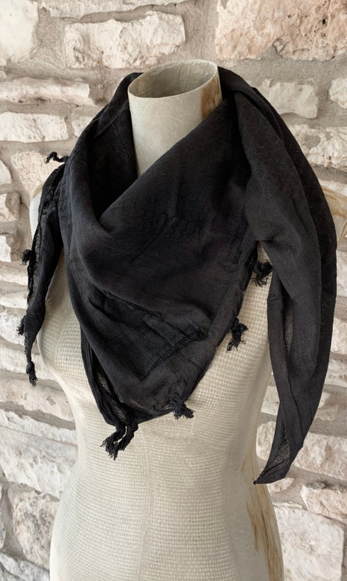 Image of BASIC BLACK SCARF