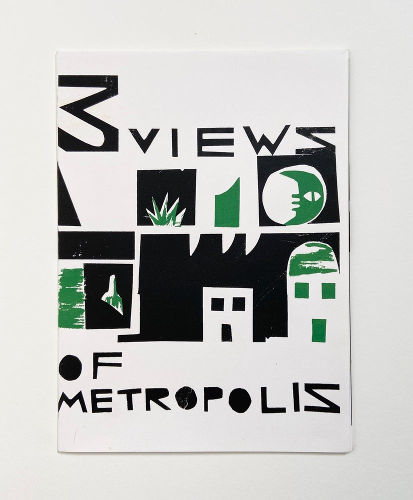 Image of 3 Views Of Metropolis, Zine, By Jordan Gray