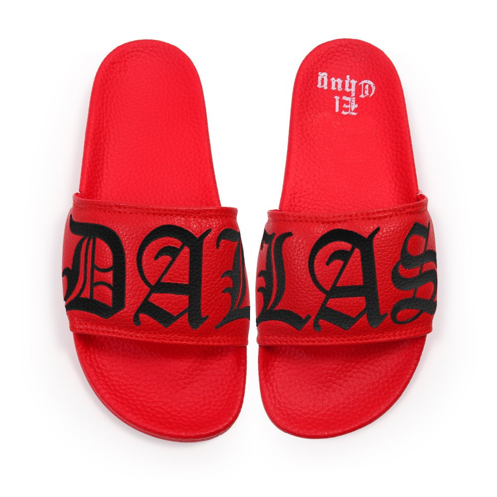Image of DALLAS BRED SLIDES (NOW SHIPPING)