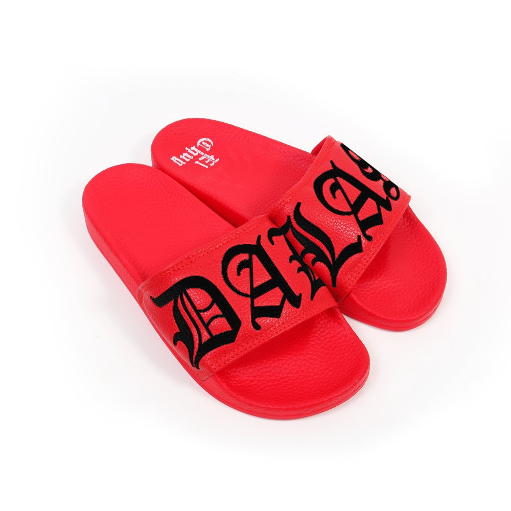 Image of DALLAS BRED SLIDES (PREORDER)