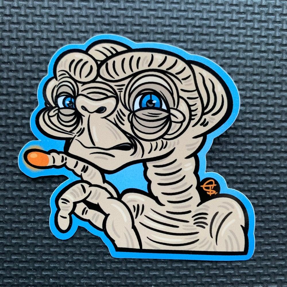 Image of ET PeekaBOO Sticker