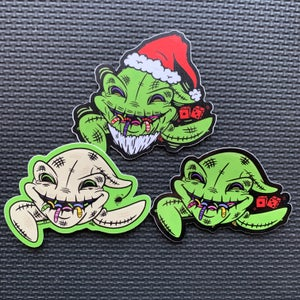 Image of Oogie PeekaBOO Sticker Set