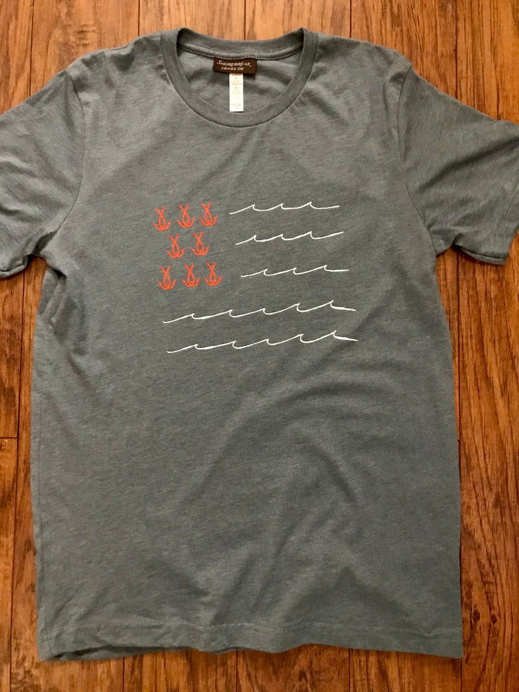 Image of Wave Flag Tee