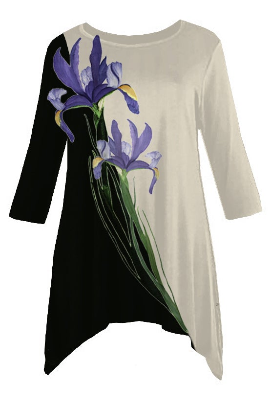 Image of Botanical Tunic Iris
