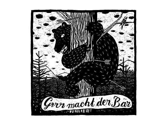 Image of SIEBDRUCK Bär