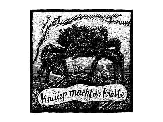 Image of SIEBDRUCK Krabbe