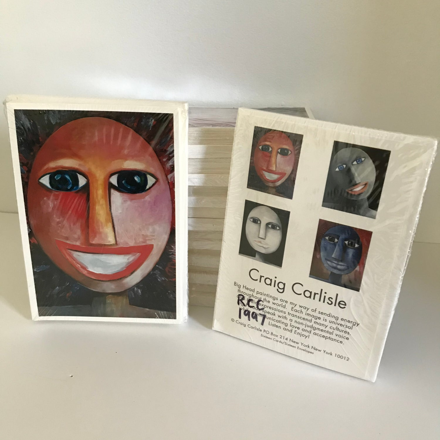 Image of Very Rare-Vintage c1997 Greeting Card Sets
