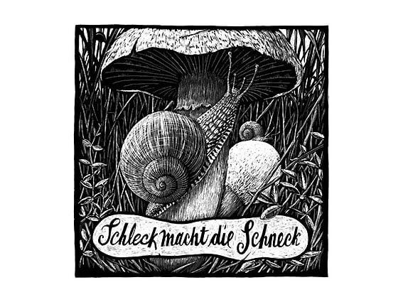 Image of SIEBDRUCK Schnecke