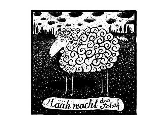 Image of SIEBDRUCK Schaf