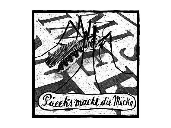 Image of SIEBDRUCK Mücke