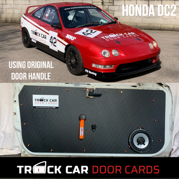 Image of Honda Integra DC2 original door handles  - Track Car Door Cards