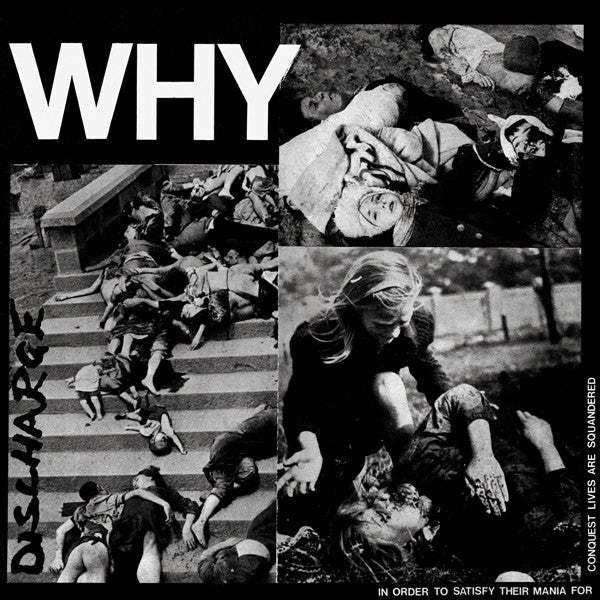 DISCHARGE-WHY 12""