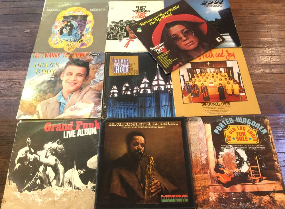 Image of Lot of 10 One Dollar LPs