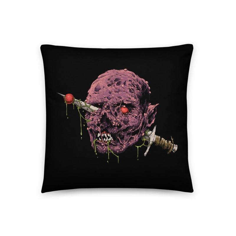 Image of Knife Head Throw Pillow