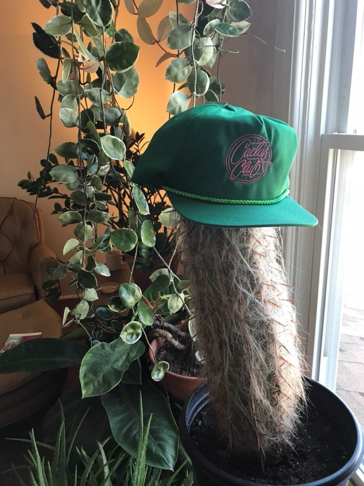 Image of Deadstock Embroidered Cactus Ball Cap