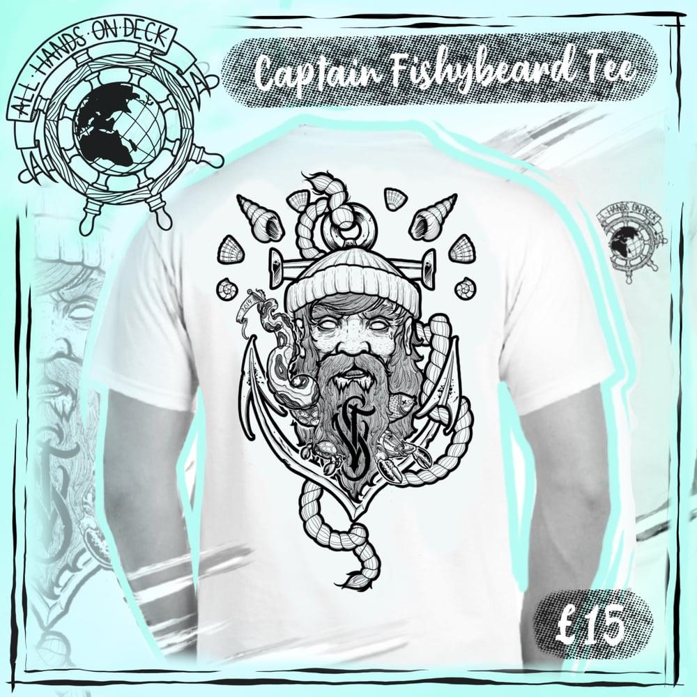 Image of 'Captain FishyBeard' Tee ~ Limited Edition