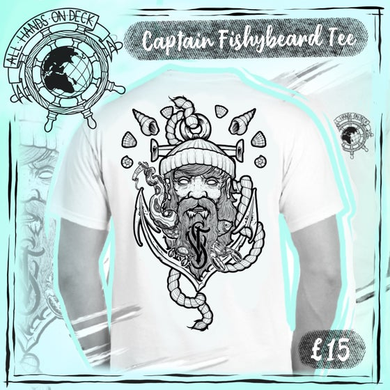 Image of 'Captain FishyBeard' Tee ~ Limited Edition