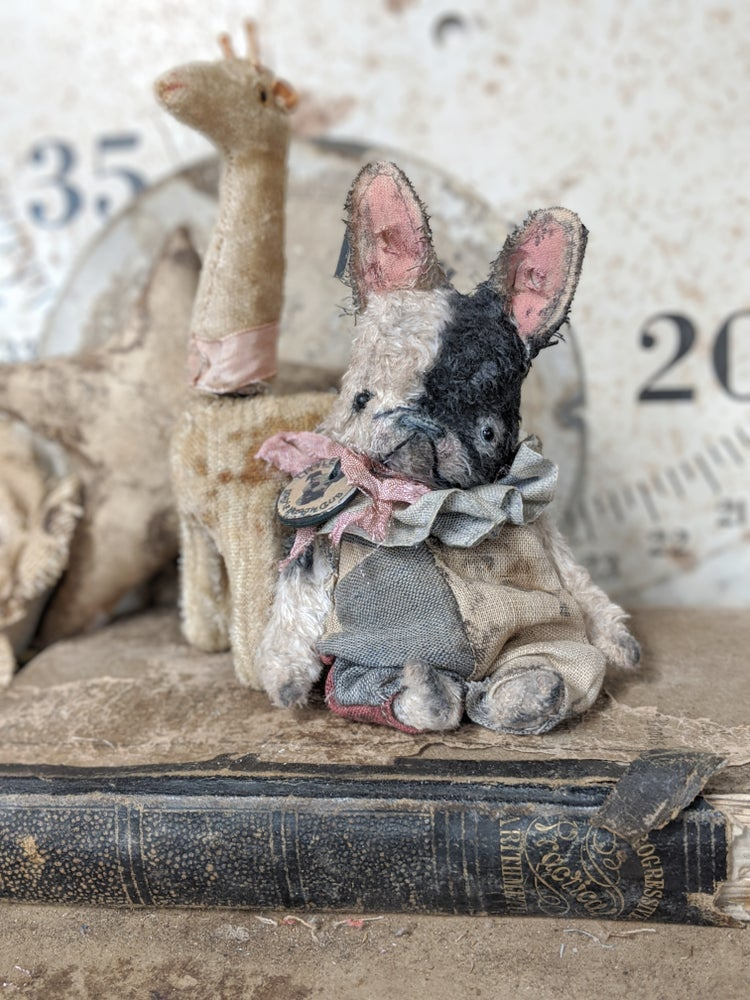 Image of TOY the Teenie-Weenie French Bulldog by whendis bears