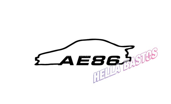 Image of Ae86 Bargain Decal