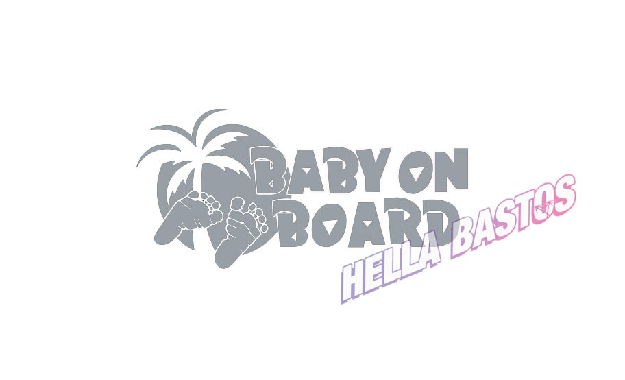 Image of Baby on Board Bargain Decal