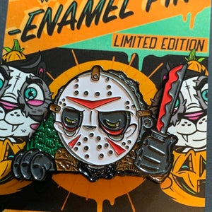 Image of Jason PeekaBOO Pin