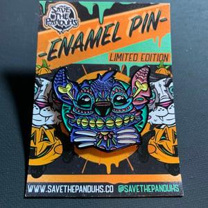 Image of Stitched Enamel Pin