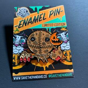 Image of Sam PeekaBOO Enamel Pin