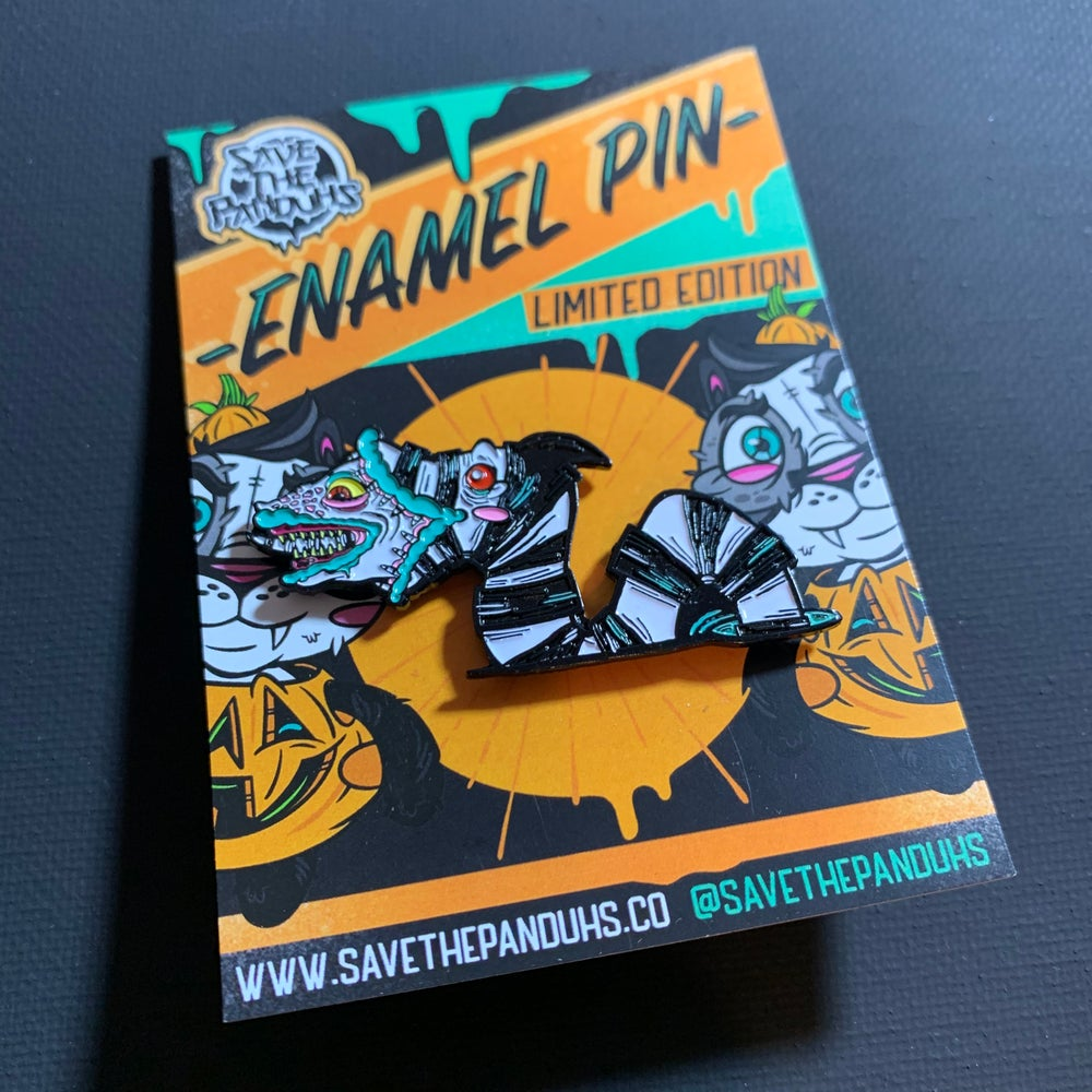 Image of Sandworm PeekaBOO Enamel Pin