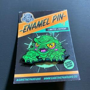 Image of Creature GLOW Enamel Pin