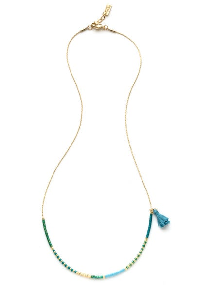 Image of Amano Seashore Japanese Seed Bead Necklace