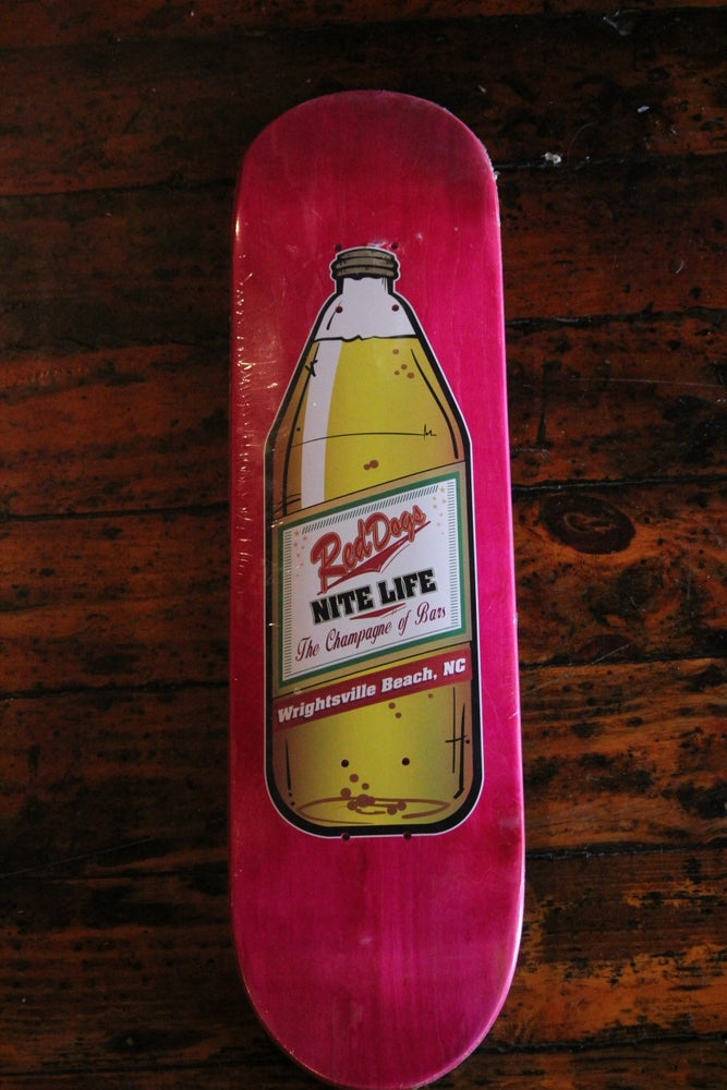 Image of Red Dogs Popsicle Skateboard Deck